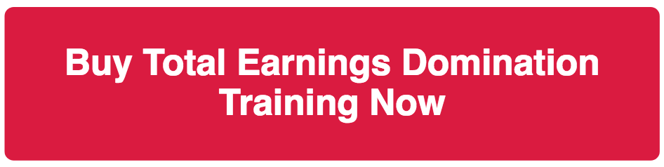 Buy Total Earnings Domination Training Now